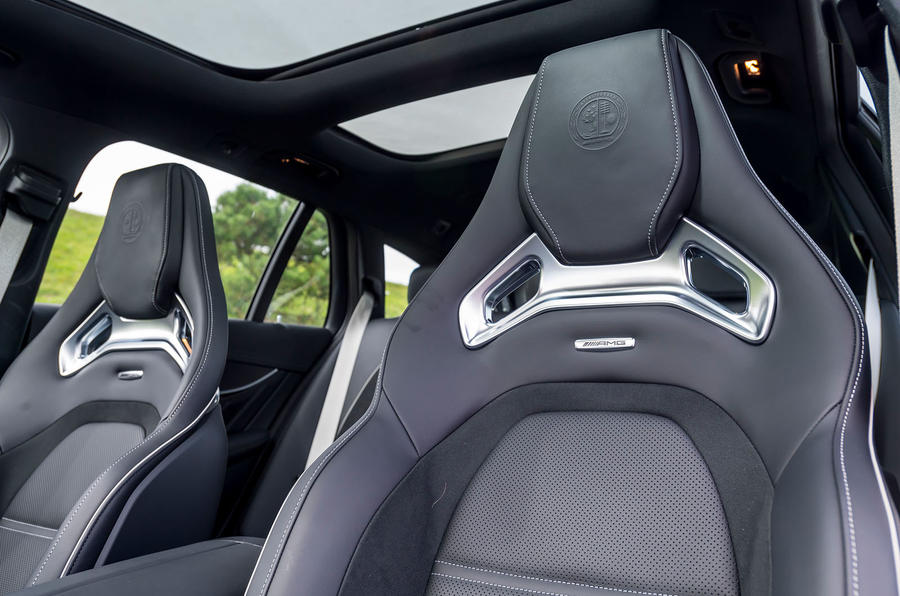 Mercedes-AMG E63 S Estate bucket seats
