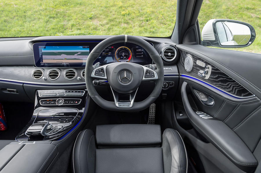 Mercedes-AMG E63 S Estate dashboard
