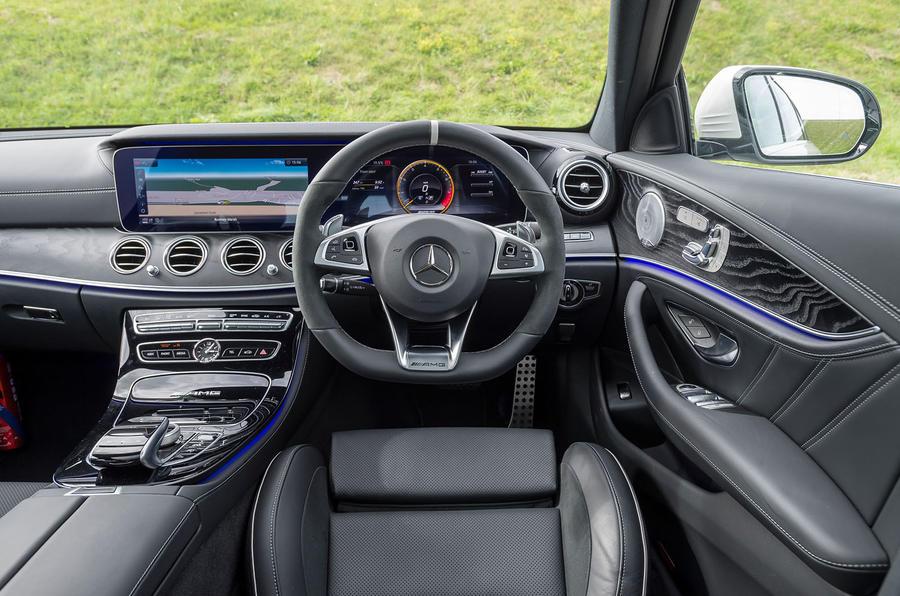 Mercedes-AMG E63 S Estate dashboard