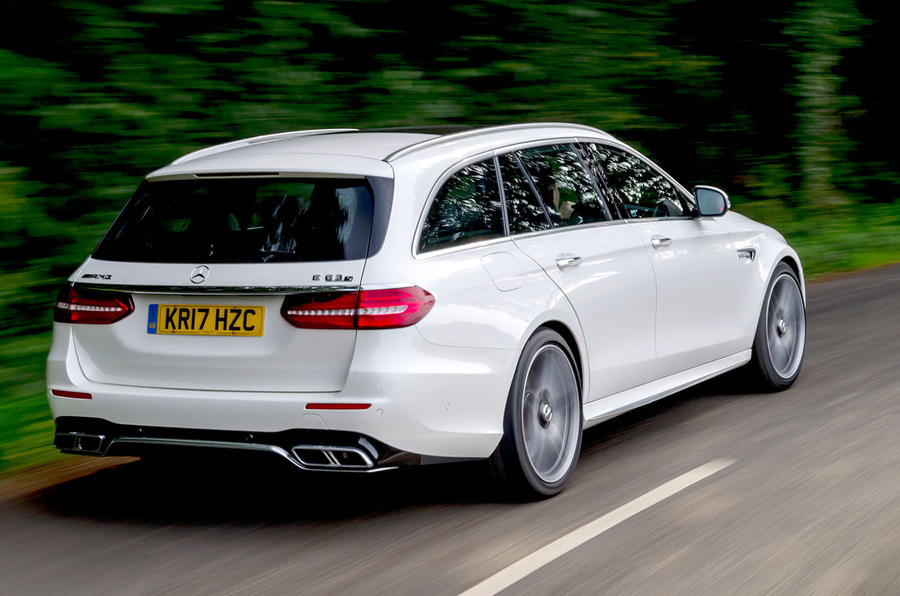 Mercedes-AMG E63 S Estate rear