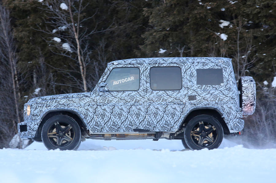 2018 Mercedes-Benz G-Class - spy pictures of AMG G 63