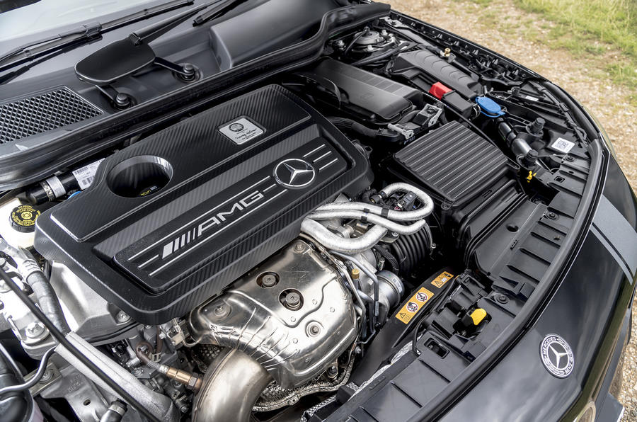 2.0-litre Mercedes-AMG GLA 45 engine