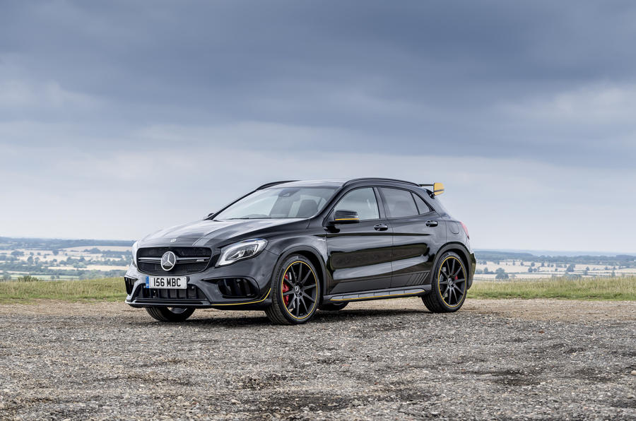 3-star Mercedes-AMG GLA 45