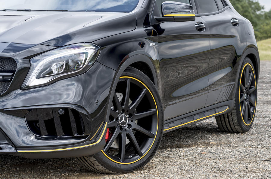 a45 amg yellow night edition price