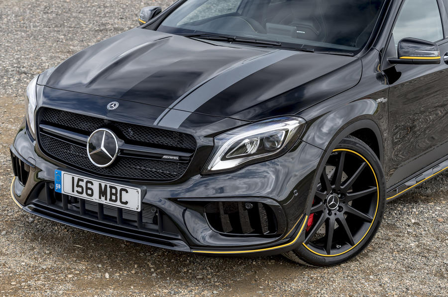 Mercedes-AMG GLA 45 front end