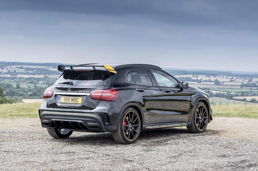 Mercedes-AMG GLA 45 rear quarter