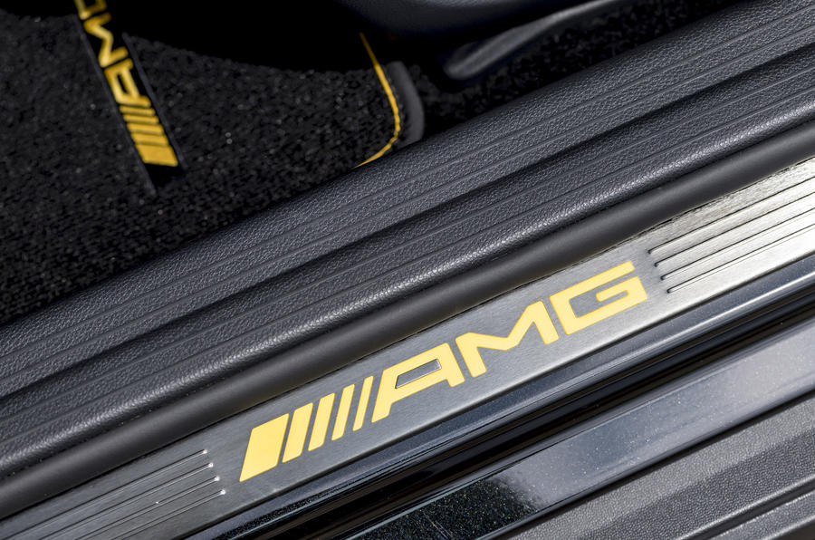 Mercedes-AMG GLA 45 scuff plates
