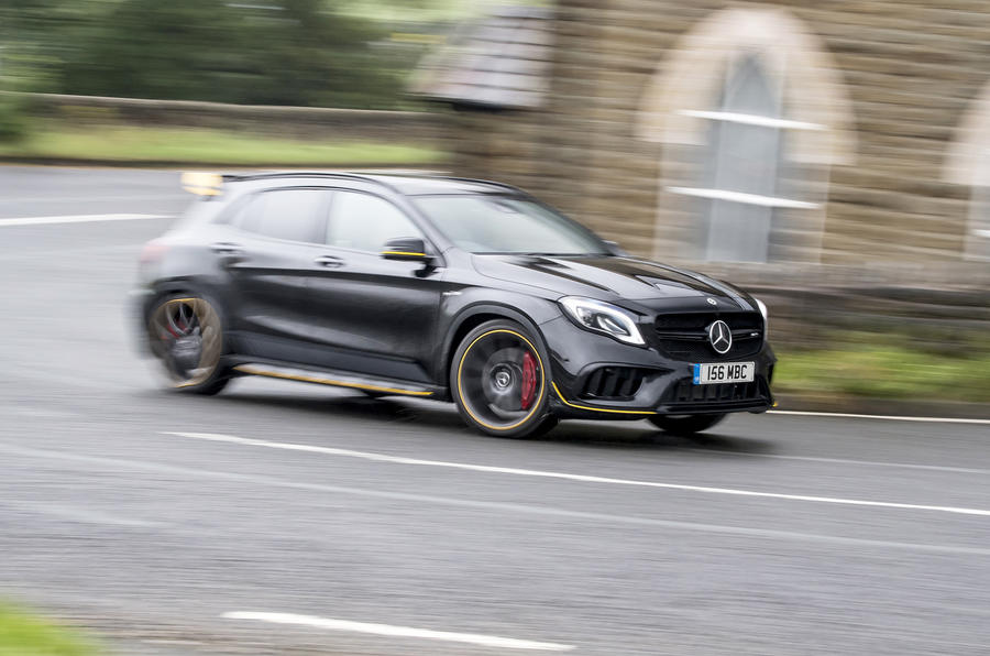 Mercedes-AMG GLA 45 side profile