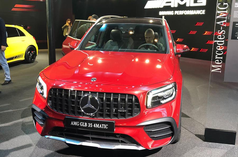 Mercedes-AMG GLB35 Frankfurt debut - front