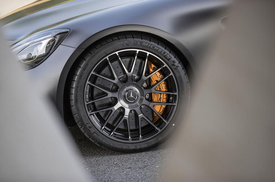 Mercedes-AMG GT C alloy wheels