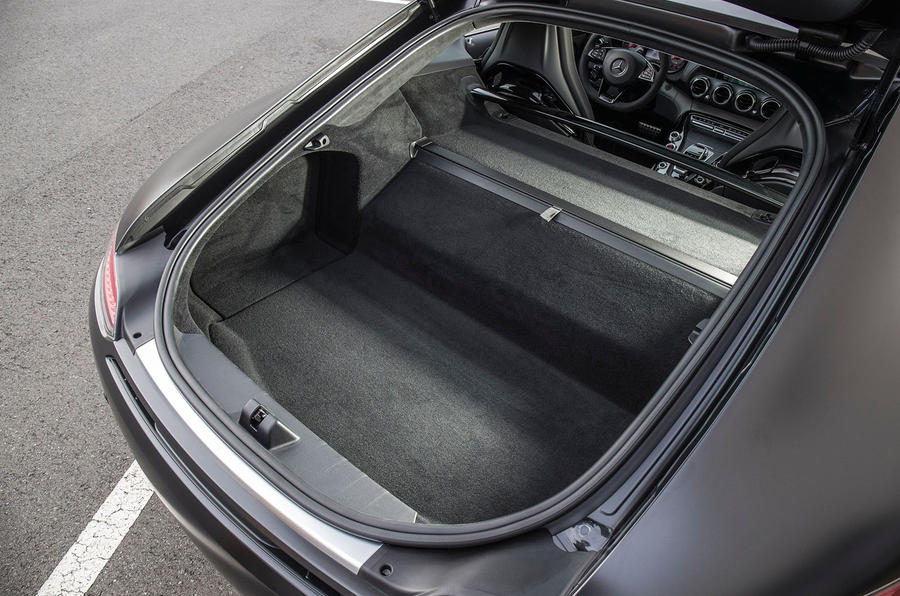Mercedes-AMG GT C boot space