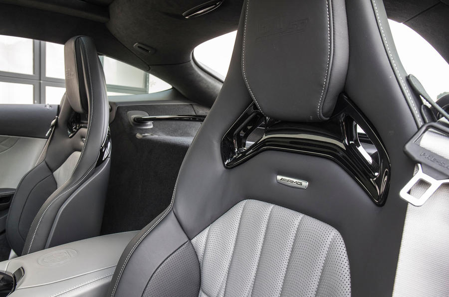 Mercedes-AMG GT C bucket seats