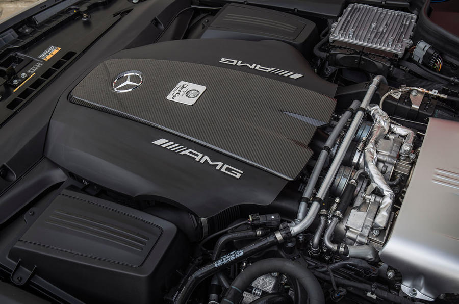 Mercedes-AMG GT C engine bay