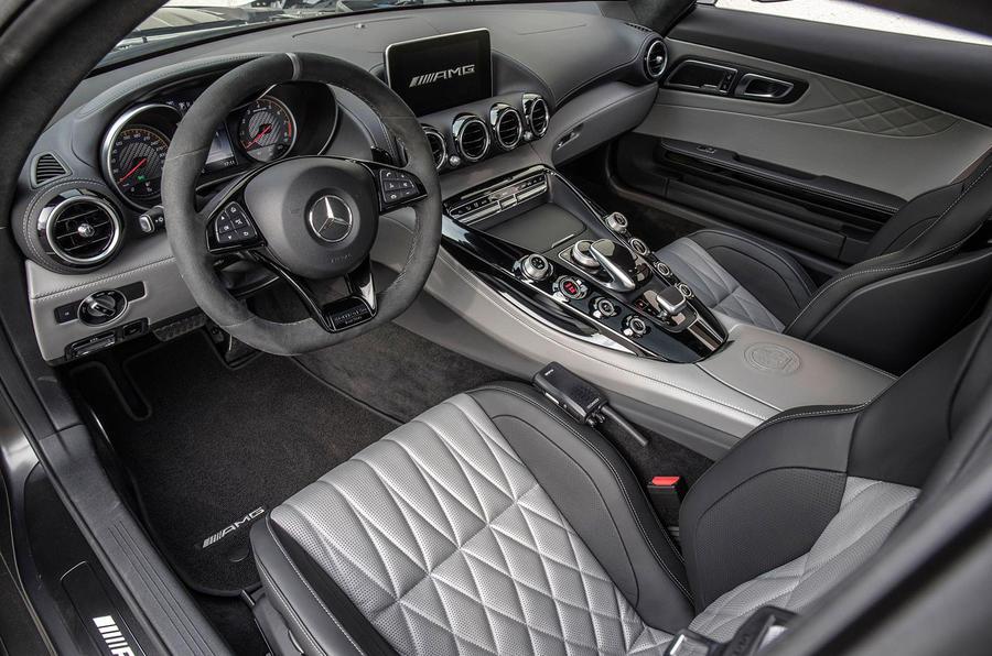 Mercedes-AMG GT C interior