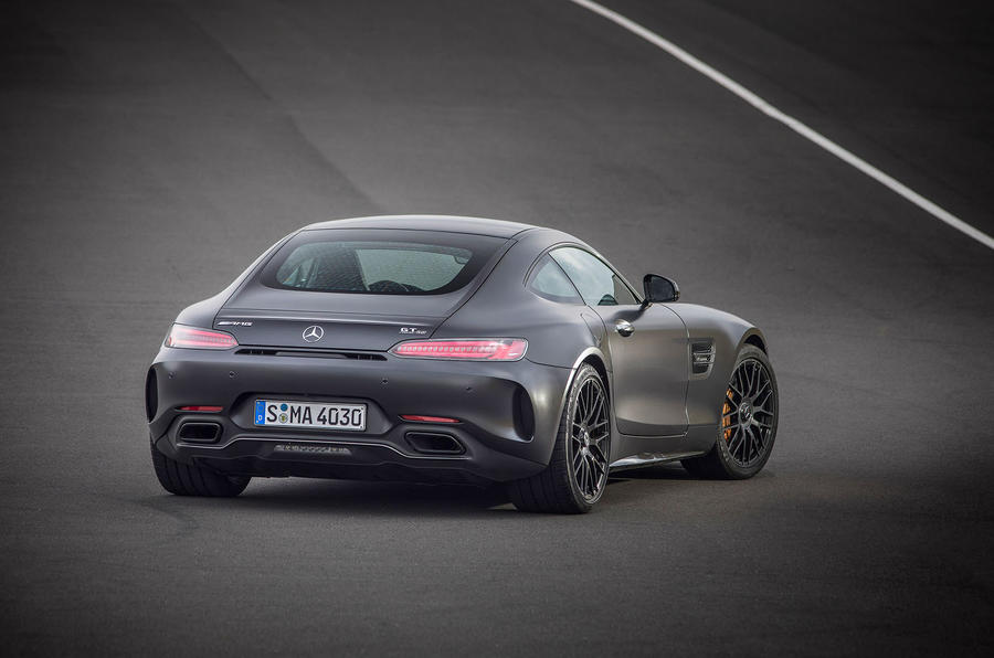 Mercedes-AMG GT C rear cornering