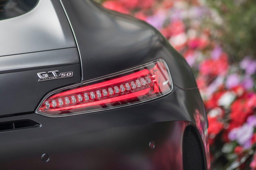 Mercedes-AMG GT C rear LED lights