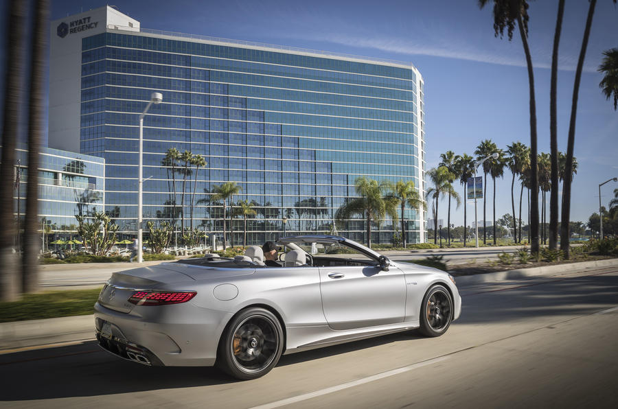 Mercedes-AMG S63 Cabriolet rear quarter