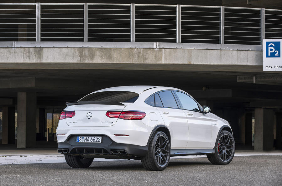mercedes amg glc 63 s 4matic coup 2017 review autocar. Black Bedroom Furniture Sets. Home Design Ideas