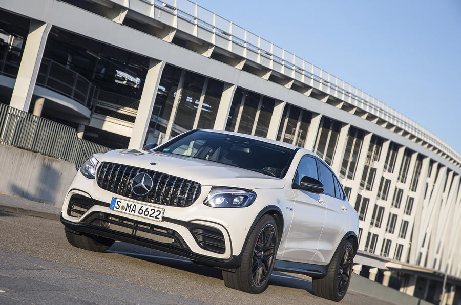 Mercedes-AMG GLC 63 S Coupé front quarter