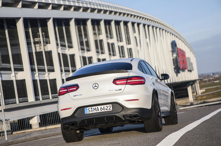 Mercedes-AMG GLC 63 S Coupé rear quarter