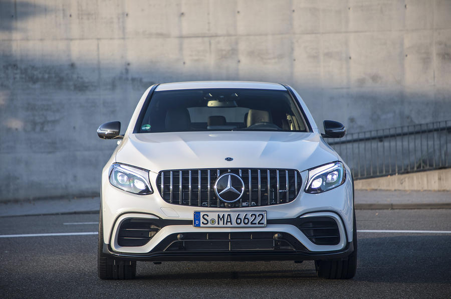 Mercedes Amg Glc 63 S 4matic Coup 233 2017 Review Autocar