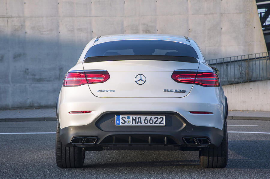 Mercedes-AMG GLC 63 S Coupé rear end