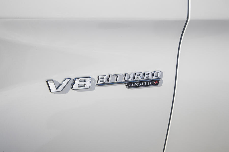 Mercedes-AMG GLC 63 S Coupé badging