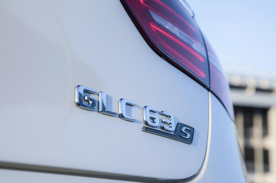 Mercedes-AMG GLC 63 S Coupé badging