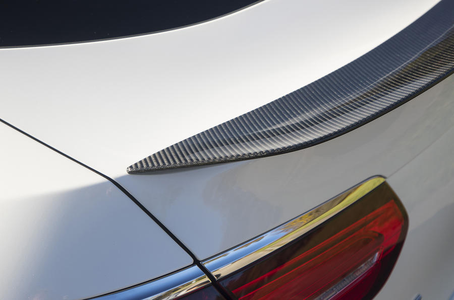 Mercedes-AMG GLC 63 S Coupé rear spoiler