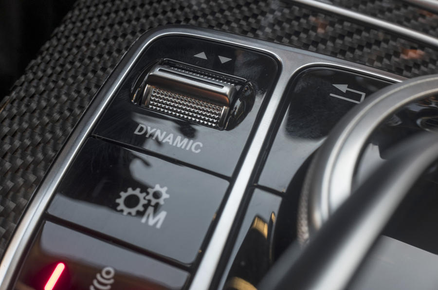 Mercedes-AMG GLC 63 S Coupé dynamic control