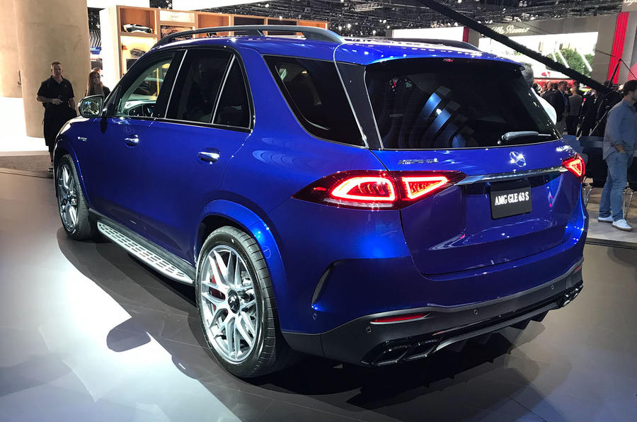Mercedes-AMG GLE 63 S at LA motor show - rear