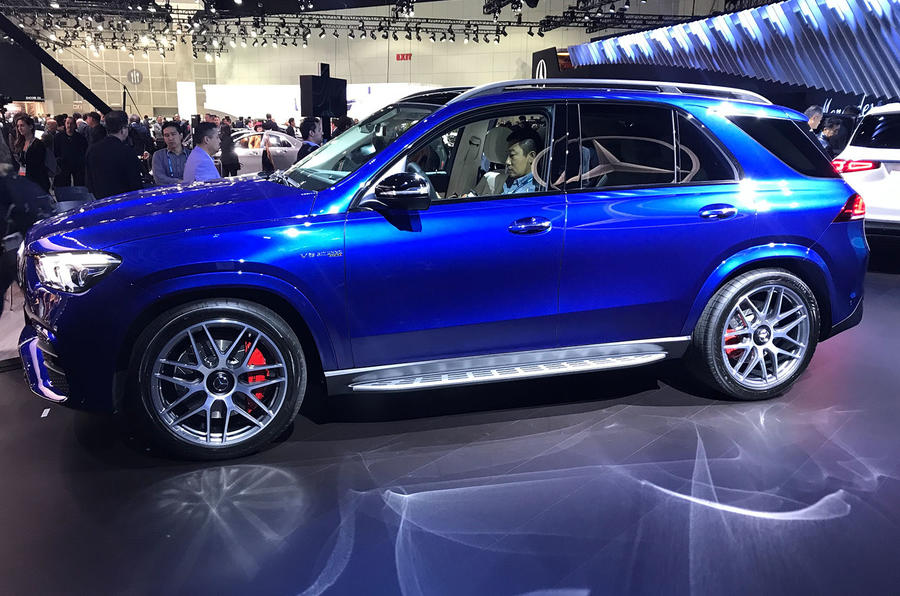 Mercedes-AMG GLE 63 S at LA motor show - side
