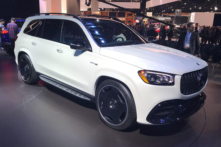 Mercedes-AMG GLE 63 S, GLS 63 are 600 HP family movers