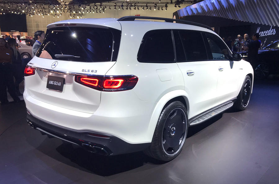 Mercedes-AMG GLS 63 at LA motor show - rear