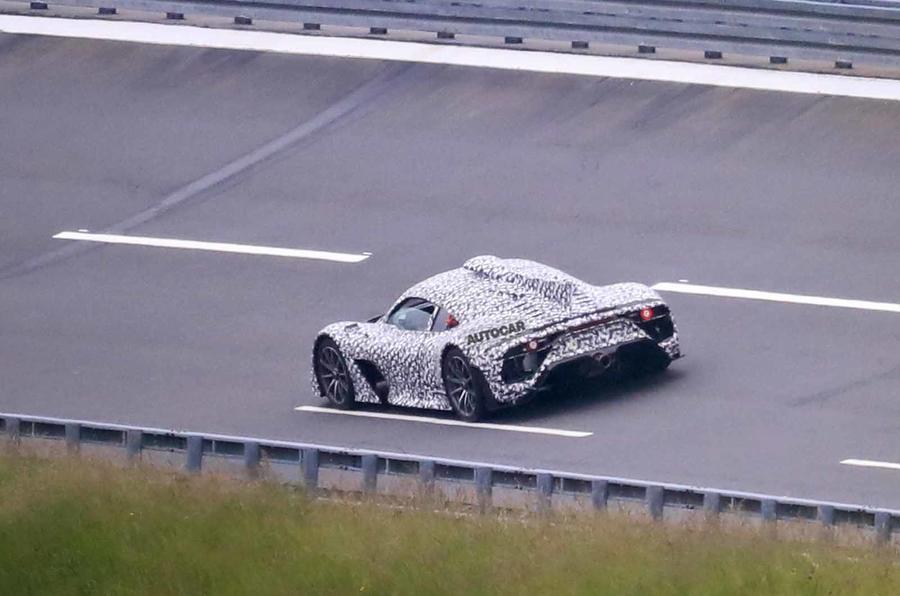 Mercedes AMG One spyshots phía sau một lần nữa