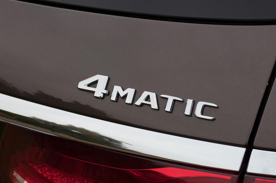Mercedes-Benz E-Class All-Terrain 4Matic badging
