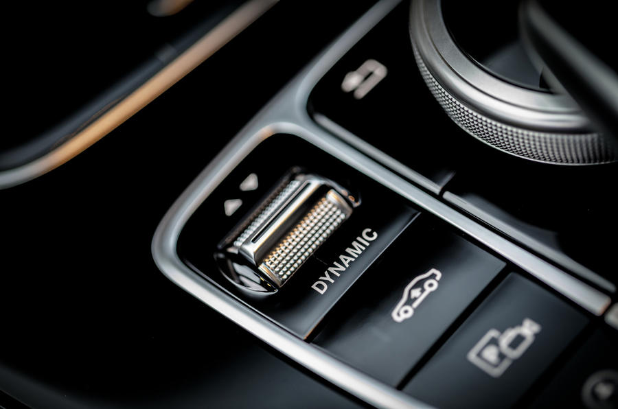 Mercedes-Benz E-Class All-Terrain dynamic controls
