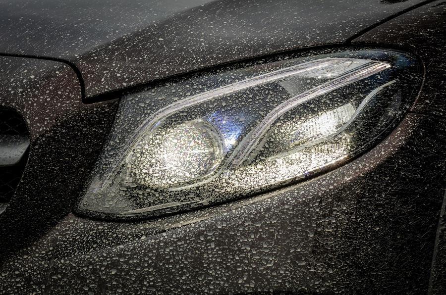 Mercedes-Benz E-Class All-Terrain LED headlights