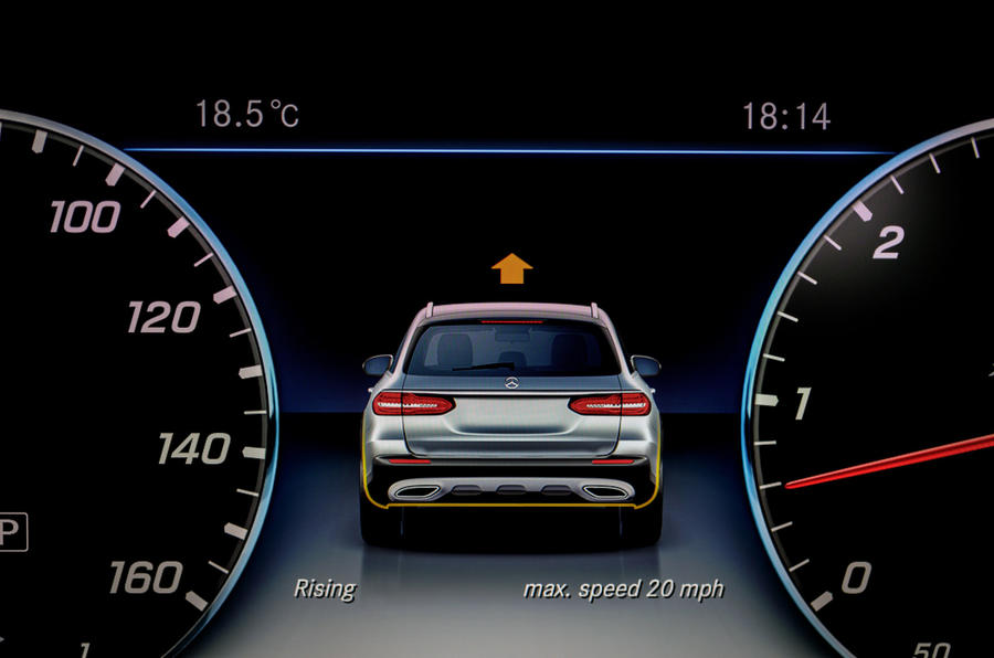 Mercedes-Benz E-Class All-Terrain off-road mode