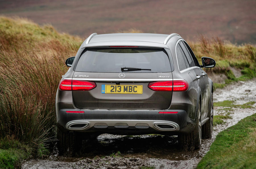 Mercedes-Benz E-Class All-Terrain rear off-roading