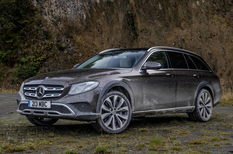 mercedes benz e class all terrain 2017 uk review autocar. Black Bedroom Furniture Sets. Home Design Ideas