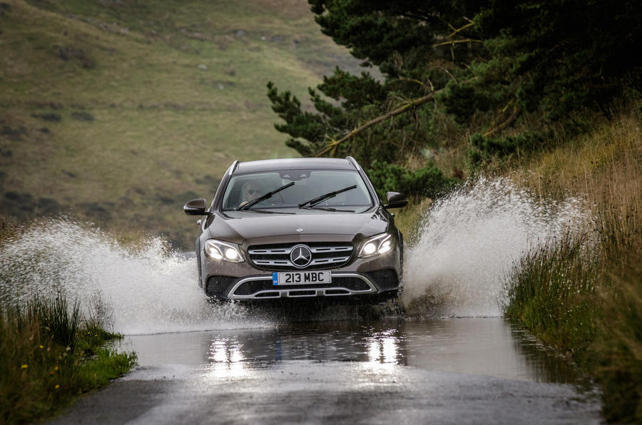 Mercedes-Benz E-Class All-Terrain wading
