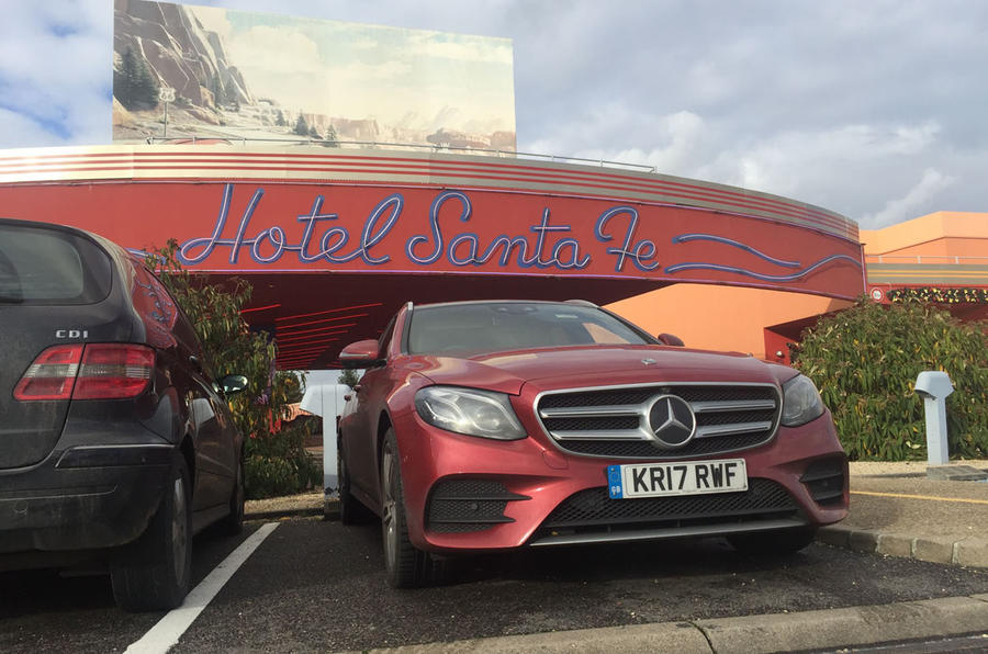 Mercedes-Benz E-Class Estate at Disneyland Paris