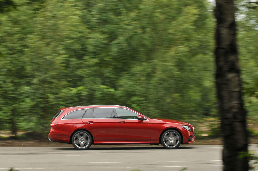 Mercedes-Benz E-Class Estate side profile
