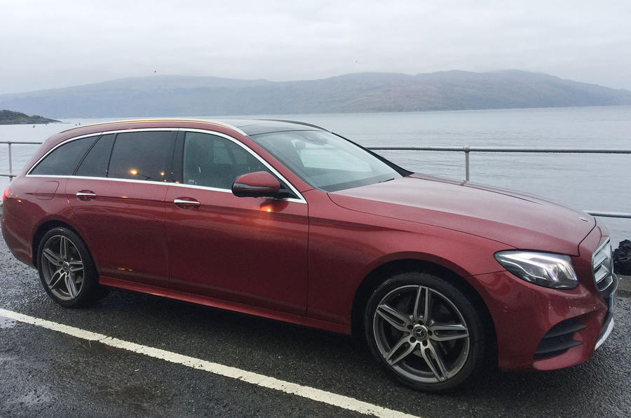 Mercedes-Benz E-Class Estate and the Isle of Mull