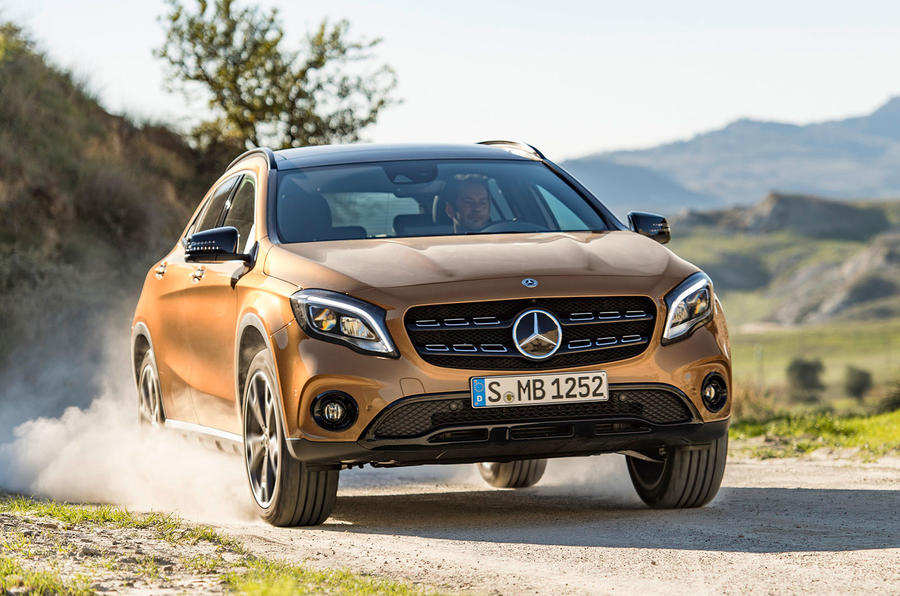 2017 Mercedes-Benz GLA facelift launched in Detroit
