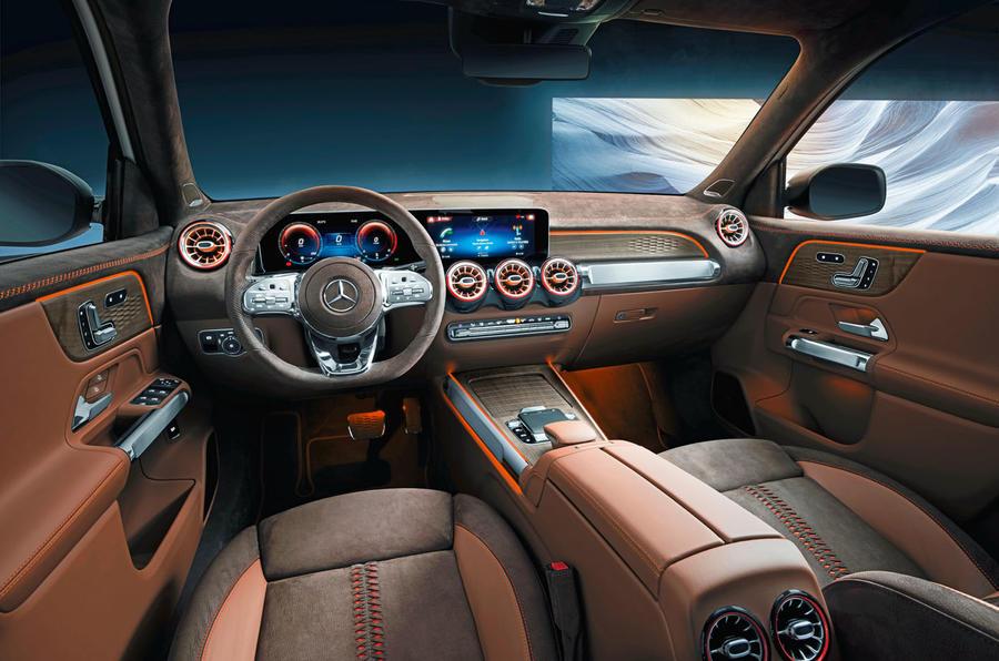 Mercedes-Benz GLB Concept interior