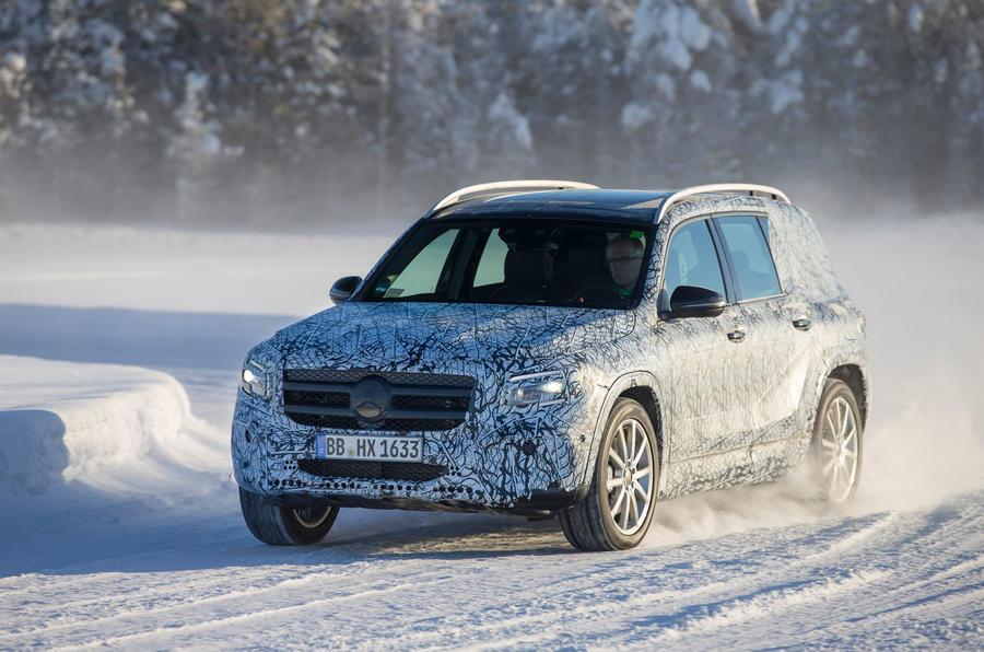 First Ride Mercedes Benz Glb 2019 Prototype Autocar