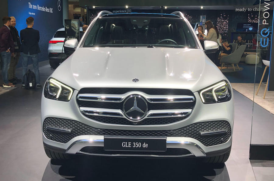Mercedes-Benz GLE 350de at Frankfurt 2019 - nose