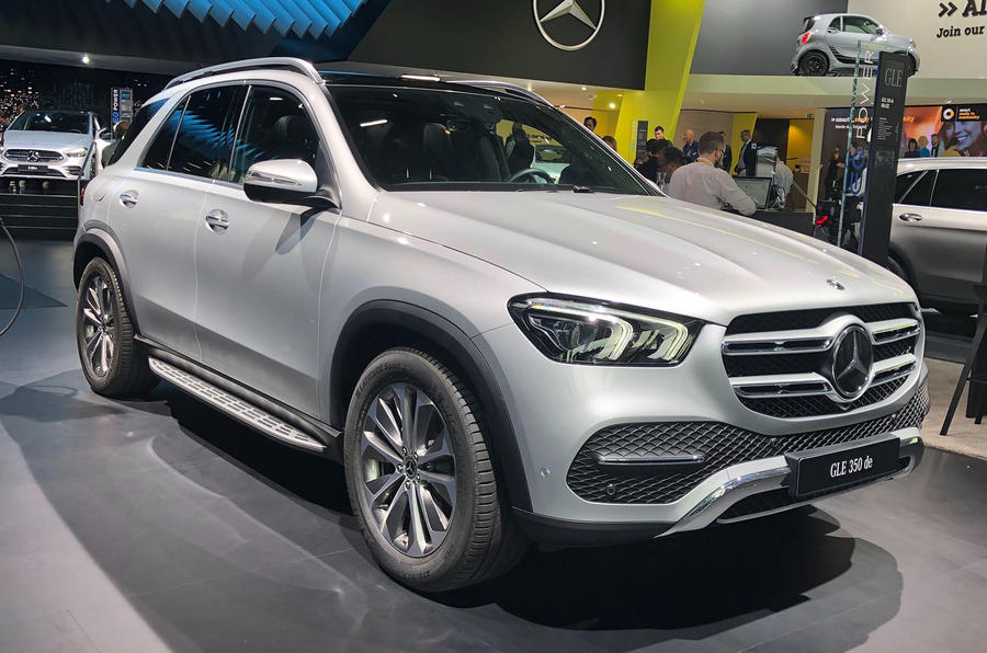 Mercedes-Benz GLE 350de at Frankfurt 2019 - front